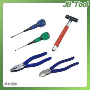 デンサン DENSAN 新人工具5点セット ハンマー玄能タイプ SJK-5SET-B