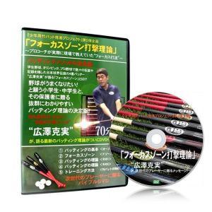 ボールパークドットコム フォーカスゾーン打撃理論DVD