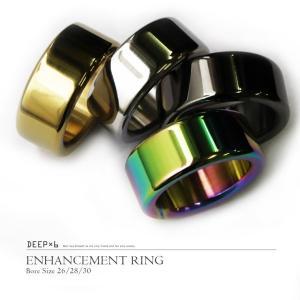 DEEP×6 コックリング エンハンスメントリング グランスリング 008 ステンレス メタル