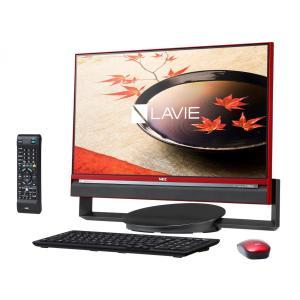 新品同様 NEC LAVIE Desk All-in-one DA770/CAR PC-DA770CAR [クランベリーレッド](MS Office Business Premium 付き)|jbuy