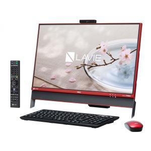 新品 NEC LAVIE Desk All-in-one DA370/DAR PC-DA370DAR [クランベリーレッド](MS Office Personal Premium 付き)|jbuy