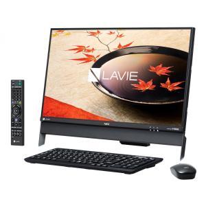 新品同様 NEC LAVIE Desk All-in-one DA370/FAB PC-DA370FAB [ファインブラック](MS Office Personal Premium 付き)|jbuy