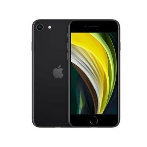 ★未使用品 iPhoneSE2 64GB SIMフリーブラックMHGP3J/A 利用制限〇★ガラスフ...