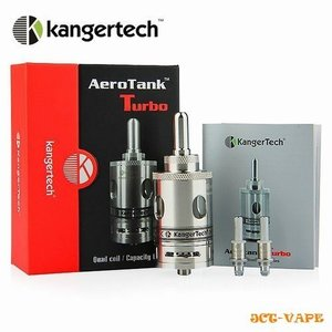 AeroTank Turbo アトマイザー KangerTech 正規品 カンガーテック エアロタンク ターボ  電子タバコ|jct-vape
