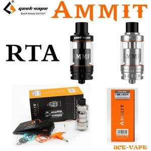 Geek Vape AMMIT RTA アトマイザー シングル 3.5ml 正規品  電子タバコ|jct-vape