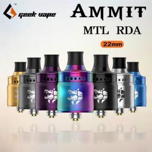 Geek Vape AMMIT MTL RDA アトマイザー 22mm シングルデッキBF対応 電子タバコ|jct-vape