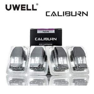 Uwell Caliburn & KOKO Replacement Pods 交換ポッド 2ml 1.4Ω 4pcs 電子タバコ|jct-vape