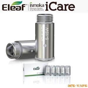 Eleaf ICARE 交換用 コイル IC SC 1.1Ω アイケア 電子タバコ VAPE Coil イーリーフ コイルヘッド 5個入り アスター ベイプ|jct-vape