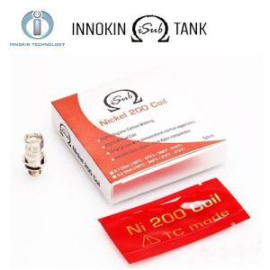 INNOKIN iSub Nickei 200 Coil イノキン アイサブ  アトマイザー コイル 5個セット 電子タバコ  Ni200|jct-vape