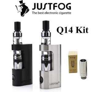 Q14 JUSTFOG プルームテック カプセル 対応 スターターキット リキッド付 電子タバコ|jct-vape