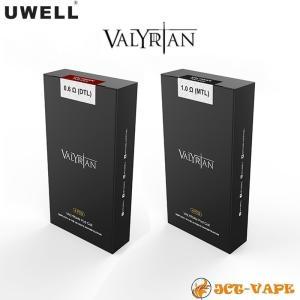 Uwell Valyrian Pod system coil 交換コイル 0.6Ω 1.0Ω 4pcs 電子タバコ VAPE jct-vape