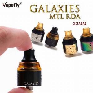 Vapefly Galaxies MTL RDA ベイプフライ ギャラクシーズ アトマイザー 22mm   電子タバコ jct-vape