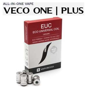 Vaporesso EUC ECO Universal Coil CERAMIC 0.3/0.5Ω ユニバーサル 交換 コイル 5個入り セラミック ベポレッソ バポレッソ 電子タバコ|jct-vape