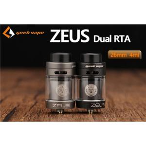 Geek Vape Zeus Dual RTA ギークベイプ ゼウス デュアル  電子タバコ jct-vape