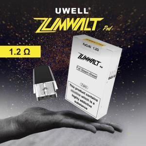 Uwell zumwalt Pods 交換ポッド 1.6ml 1.2Ω 2pcs 電子タバコ VAPE|jct-vape