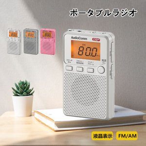 【特徴】 ●DSP(デジタル受信)でクリアな音声、DSP FMステレオAMポケットラジオ ●デジタル...