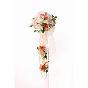 ウェディングブーケ ブライダルブーケ ブーケ造花 結婚式ブーケ 3段ブーケ jd-bridal