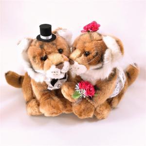 タイガーペア とら 結婚式ぬいぐるみ トラ jd-bridal