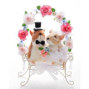 ねずみペア ネズミ 結婚式ぬいぐるみ ウェディングドール jd-bridal