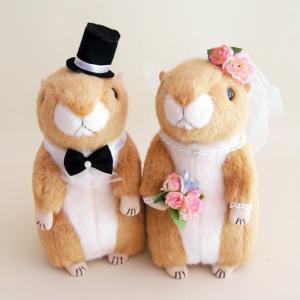 プレーリードック 結婚式ぬいぐるみ ウェディングドール jd-bridal