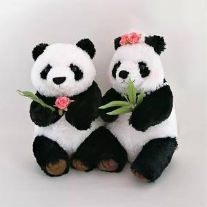 パンダのウェルカムドール ぬいぐるみ 完成品(ギフト対応)結婚式 お祝い 受付装飾 jd-bridal