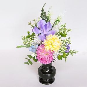 仏花(小)パープル 高級 【造花】【仏花】【御供】|jd-bridal