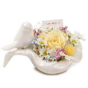 メモリアルフラワー 小鳥 ペットのお供え ギフト対応|ペット お供え|ペット 仏花|大切な家族へ 鳥|jd-bridal