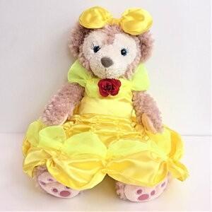 美女と野獣ドレス ベルのイエロードレス シェリーメイ用衣装 手作りドール用 jd-bridal