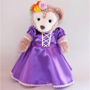 ラプンツェルドレス シェリーメイ用衣装 手作りドール用 ラプンツェルのラベンダードレス jd-bridal