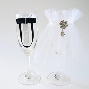 ウェディング グラスドレス  ブライダルグラスドレス 結婚式用【メール便対象商品】|jd-bridal