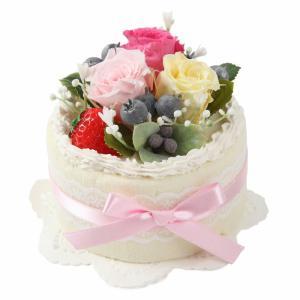 フェイクケーキ ケーキ プリザーブドフラワー プリザ アレンジ 結婚式 インテリア ギフト 演出アイテム |jd-bridal