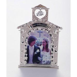 結婚祝いフォトフレーム 写真立て ギフト写真立て チャーチ|jd-bridal