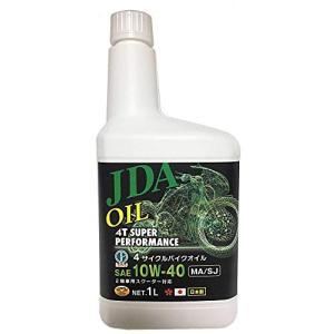 JDA 2輪車専用 4サイクル バイクオイル 10W-40 MA/SJ 1L