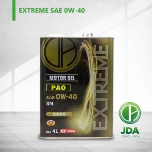 JDAエンジンオイル EXTREME 0W-40 SN PAO 4L 全合成基油
