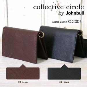 collective circle by Johnbull(コレクティブサークル ジョンブル) カードケース(カード・名刺入れ/CC006)|jeans-akaishi