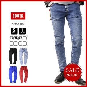 エドウィン EDWIN ジーンズ デニムパンツ LONDON SLIM ロンドンスリム カラージーンズ E1410|jeans-yamato