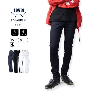 EDWIN ジーンズ エドウィン EDWIN ジーンズ デニム ジーパン スキニー E STANDARD SKINNY ED022-1|jeans-yamato