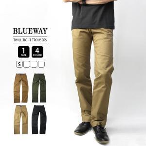 ブルーウェイ BLUEWAY BLUE WAY トラウザーパンツ ストレッチツイル メンズ ボトムス 国産 日本製 AM1302|jeans-yamato