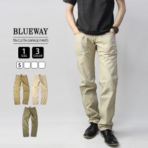 ブルーウェイ BLUEWAY BLUE WAY パンツ ティンクロスガレージパンツ メンズ ボトムス 国産 日本製 AM1612|jeans-yamato