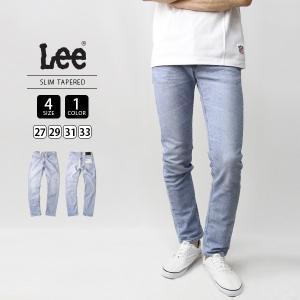 Lee ジーンズ メンズ デニムパンツ スリムテーパード EURO RIDERS SLIM TAPERED LM0813-166|jeans-yamato