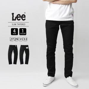 Lee ジーンズ メンズ デニムパンツ スリムテーパード EURO RIDERS SLIM TAPERED LM0813-275|jeans-yamato