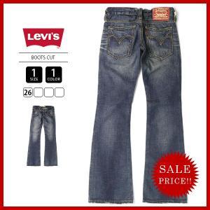 Levi'sリーバイス レディース ジーンズ デニムパンツ ブーツカット RE506-0001|jeans-yamato