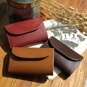 ホークカンパニー 財布 財布 メンズ 二つ折り 革 薄い 小銭入れ 財布 レディース 二つ折り 本革 Hawk Company 7209|jeans-yamato