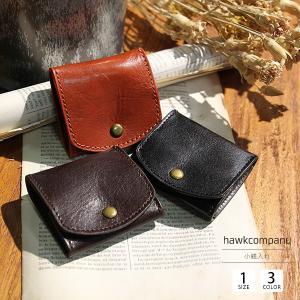ホークカンパニー 財布 小銭入れ メンズ 本革 コインケース 小さい バレンタイン プレゼント Hawk Company 7231|jeans-yamato