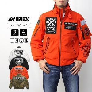 AVIREX ジャケット AVIREX MA-1 アヴィレックス アビレックス MA-1 MOD HALO Avirex Military Camp 6192176|jeans-yamato