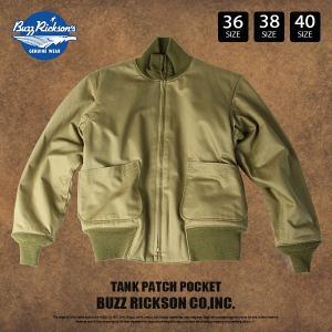 バズリクソンズ フライトジャケット Buzz rickson's バズリクソンズ ジャケット ミリタリー TANK PATCH POKET BR13061|jeans-yamato