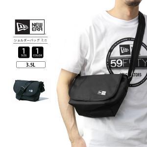 ニューエラ ショルダーバッグ ミニ バッグ NEW ERA ショルダーバッグ カバン かばん 鞄 ストリート ブラック 11556617|jeans-yamato