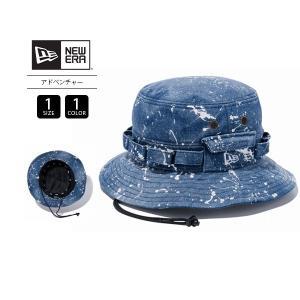 ニューエラ ハット メンズ NEW ERA ハット 帽子 アドベンチャー スプラッシュ ウォッシュドデニム 11901157|jeans-yamato