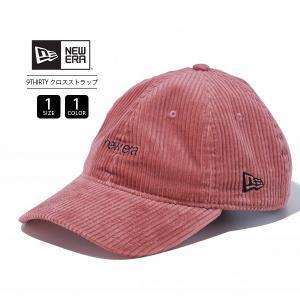 ニューエラ 9THIRTY キャップ NEW ERA キャップ クロスストラップ コーデュロイ レディース メンズ 帽子 ロゴ刺繍 12109047|jeans-yamato