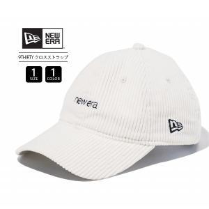ニューエラ 9THIRTY キャップ NEW ERA キャップ クロスストラップ コーデュロイ レディース メンズ 帽子 ロゴ刺繍 12109048|jeans-yamato